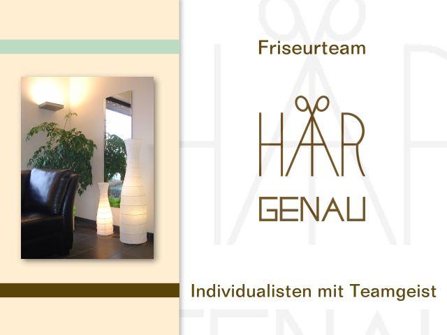 Friseurteam Haargenau in 75443 ÖtisheimIhre Individualisten mit Teamgeist